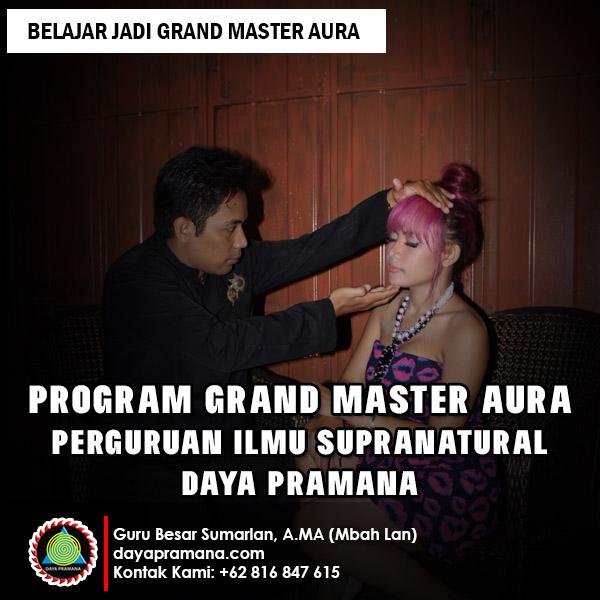 Belajar Jadi Grand Master Aura