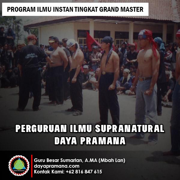 Program Ilmu Instan Tingkat Grand Master - Daya Pramana