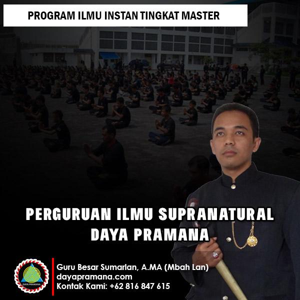 Program Ilmu Instan Tingkat Master